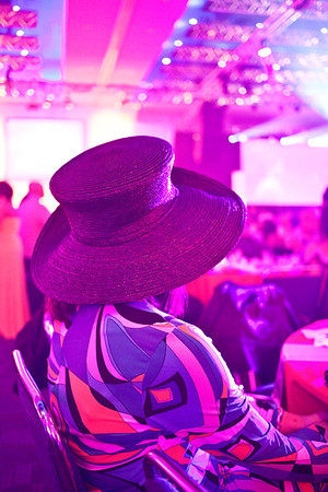 Held in the Cascade Ballroom at the Kentucky International Convention Center, The Darrell Griffith Foundation Derby Gala is always well-attended and rich in colorfoul decor.