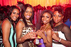 Jamelia Evans, Lecresha Evans, Shawnae Hill, and TaMeca Brown came to party.