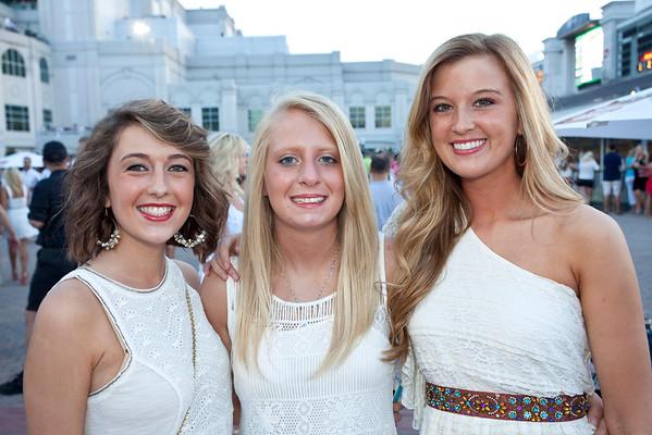 Sara Browning, Ashley Jeffrey, and Amelia Lawrey were all smiles.