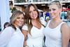 Michele Mandlehr, Rachel Ehriger, and Kelly Kraemer kept up the white theme.