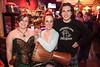 Jen Steigerwald (center) gets the photo opp with a few friends.