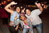 UofL fans take to the street in celebration of the Final Four victory over Wichita State. Large crowds grew near the intersection of 21st & Broadway shortly after the game.