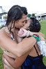 Now Qutyan and Cayla Martinez celebrate the good times with a little affection.