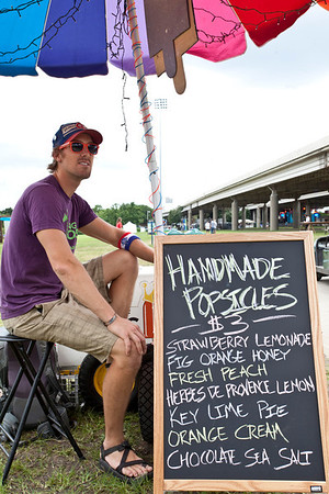 Random scenes from the early part of Day Two of Forecastle Fest 2013.