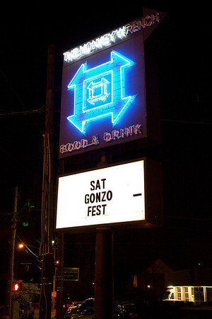 Random scenes and faces in the crowd at the Annual GonzoFest at The Monkey Wrench.
