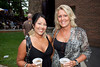 Kristy Raisor and Tracy Roberts were an elegant pair.