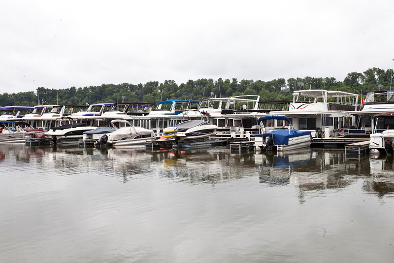 A cloudy Wednesday at the Taylorsville Lake Marina is no indicator that recreational boating in the area has dropped off. Marina employees admitted that the public has been curious about the legitimacy of  threats as reported by local media, but that weekend activity has been steady.