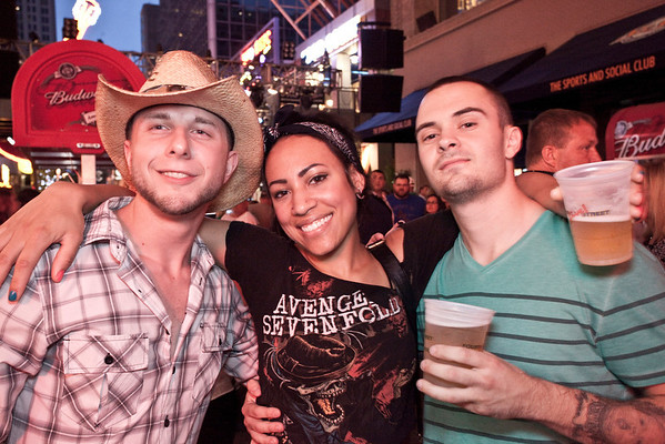 Josh Ramsey, Kyme Howard and Johnny Holthouser know how to party.