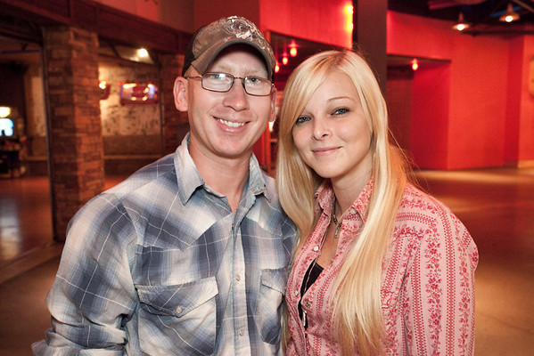 Matthew Powell and Brittani Mann take in the sights and sounds of Hot Country Nights.