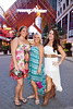 Lindsey Garnett, Jill Jackson, and Brittany Spencer were decked out in summer fashon.