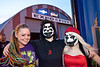 Curra Clark, Jazmine Melton, and Juice Forbes arrive on the scene at Expo Five for the return of Insane Clown Posse.