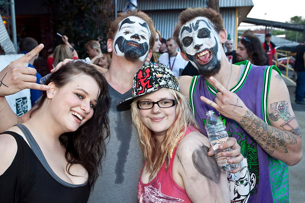 Brittany James, Jeremy Weathers, Elizabeth Harding, and Steven Hillard know how to party.