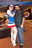 Jessica Thompson and Jason Mattox of Timebomb Kustoms were on the scene.