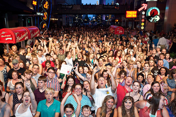 The crowd was ready for Kacey Musgraves.