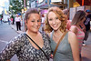 Lauren Gunter and Samantha Wolfe take in the sights and sounds of Fourth Street Live.