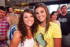 Cassidy Tackett and Savannah Looney were a couple of pretty faces in the crowd.