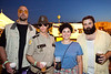 Cedar Rapids, Iowa natives Travis Suachenko, Robyn Sauchenko, Matt Ash, and Kyla Ash came in costume.