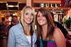 Crystal Popp and Christina Fleming came for some live country music.