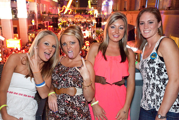 Let the good times roll with Dana, Ashley, Kaylen, and Megan.