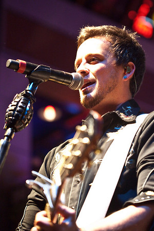 Country band Love & Theft take care of business as the headliners.