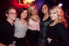 Colleen Hayes, Ember Chassity, Tiffany Cornett, and Meghan Hardesty (along with a happy, unidentified male companion) enjoy the atmosphere at Diamonds.