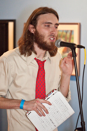 Spoken word/hip-hop artist Touch A.C. rivets the crowd with a blend of social observation and rhyme.