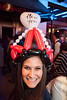 Various scenes and random faces in the crowd during the New Years celebration at Fourth Street Live.