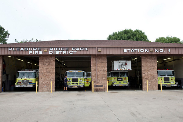 Scenes from the Pleasure Ridge Park Fire District Station #1 on Kerrick Lane off of Dixie Highway