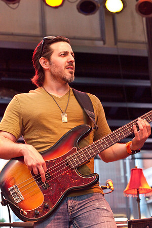 Weston Burt served as the opening act.