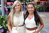 Christina Howard and Miranda Goff are returning fans of the Hot Country Nights concert series.