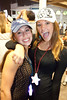 Bella Levine and Maddie O'Leary were in the middle of the action during the last seasonal installment of Downs After Dark at Churchill Downs on Saturday night.