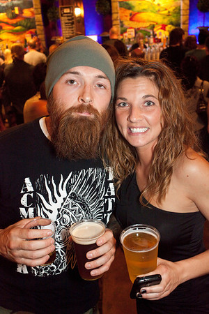 Adam Middleton and Melissa Richardson know how to party.