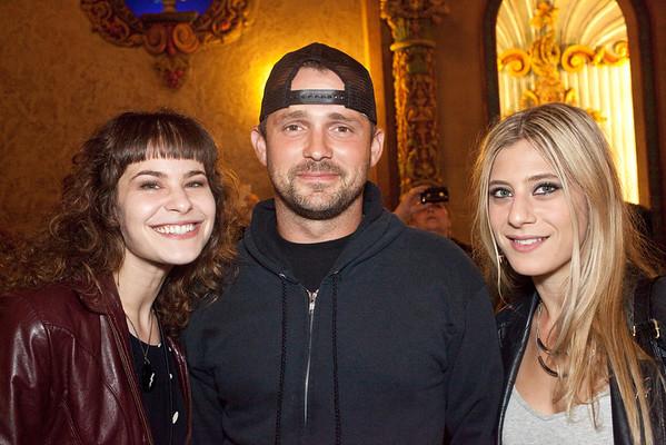 Rachel Barrett, Travis Mann and Sammy Barrett were ready for some Soundgarden.