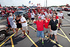 Random scenes and various faces in the crowd during tailgaiting at Papa John's Stadium for the start of the UofL football season.