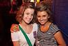 Sabrina Shouse and Holly Bunton were cute in the corner.