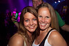 Erin Green and Sally Staton get extra close for the photo opp during The VilleBillies show at Diamonds Pub on Saturday night.