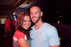 Brandon Brady and Stephanie Cox were all smiles.