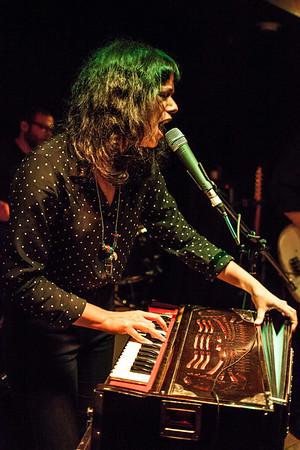 Brooklyn native Shilpa Ray headlined a night of entertainment at Zanzabar.