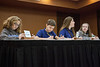 (Left to Right) Elizabeth Hinsdale, Aaron Anderson, Emily Girard, and Brooke Jones represented the Twenhofel Middle School from Independence, KY.