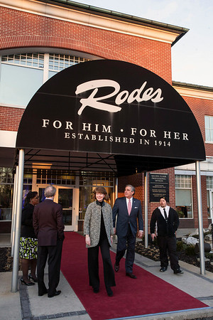"Rodes celebrated it's 100th birthday with an open house and party on Monday night. Opened in 1914, Rodes is the last surviving local department store in Louisville and provides ""the finest in men's and women's apparel."""
