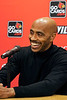 University of Louisville legend Darrell Griffith held his official press conference at the campus YUM! Center Media Room on Floyd Street Wednesday afternoon to discuss his election into the College Basketball Hall of Fame.