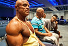 Stan Bishop, 61, takes a mental break before the start of the 2014 NPC Kentucky Derby Festival Bodybuilding Championship. Bishop is the 2013 Champion and a former Mr. Kentucky and National Champion.