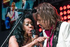 Mary Wilson sings another song with Richie Sambora.