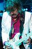 Richie Sambora played a customized Derby guitar.