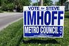 Yard signs and scenes from Louisville Metro Government District 9 illustrating the abundance of candidates in the Democratic Primary seeking the Metro Council position being vacated by Tina Ward-Pugh.