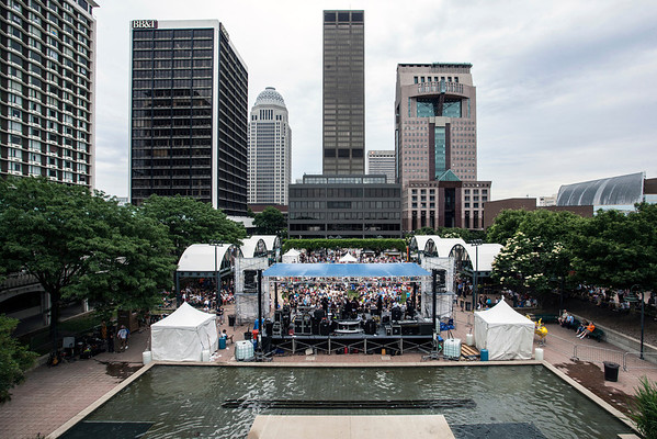 The sights and sounds of the annual Abbey Road On The River festival permeated with energy and color in all directions.