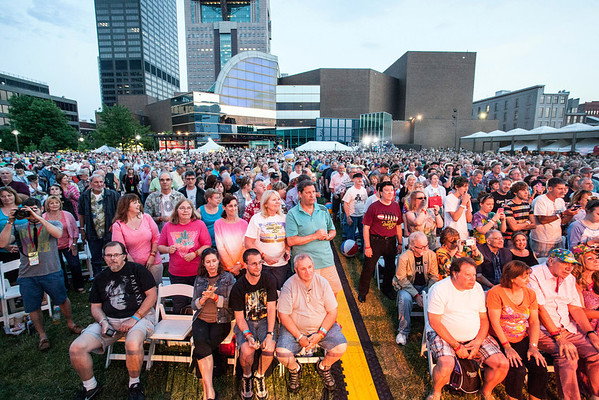 The crowds came out on Sunday night as The Beach Boys headlined the annual Abbey Road On The River festival.