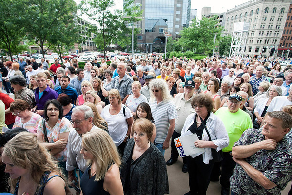 The Cher fans were out in full force on Monday night for her concert at The YUM! Center.