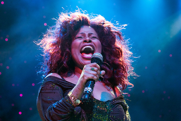 """10-time Grammy winner and """"Queen of Funk"""" Chaka Khan headlined the opening night of the Midwest Music Fest at the YUM! Center on Friday."""