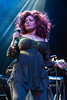 "10-time Grammy winner and ""Queen of Funk"" Chaka Khan headlined the opening night of the Midwest Music Fest at the YUM! Center on Friday."